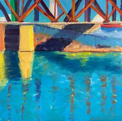 I Street Bridge, 20 x 20, SOLD