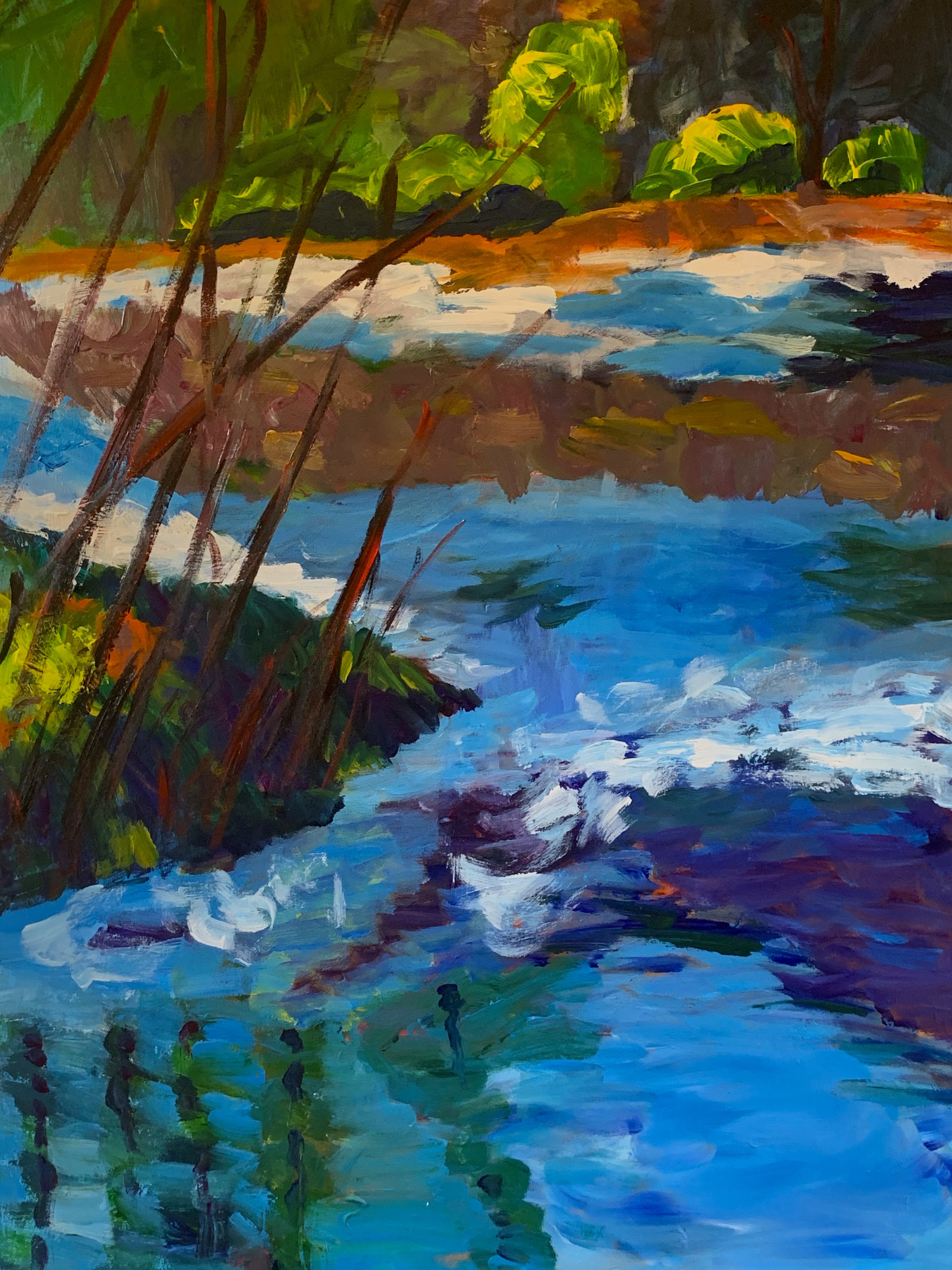 River Light, 40 x 30, SOLD