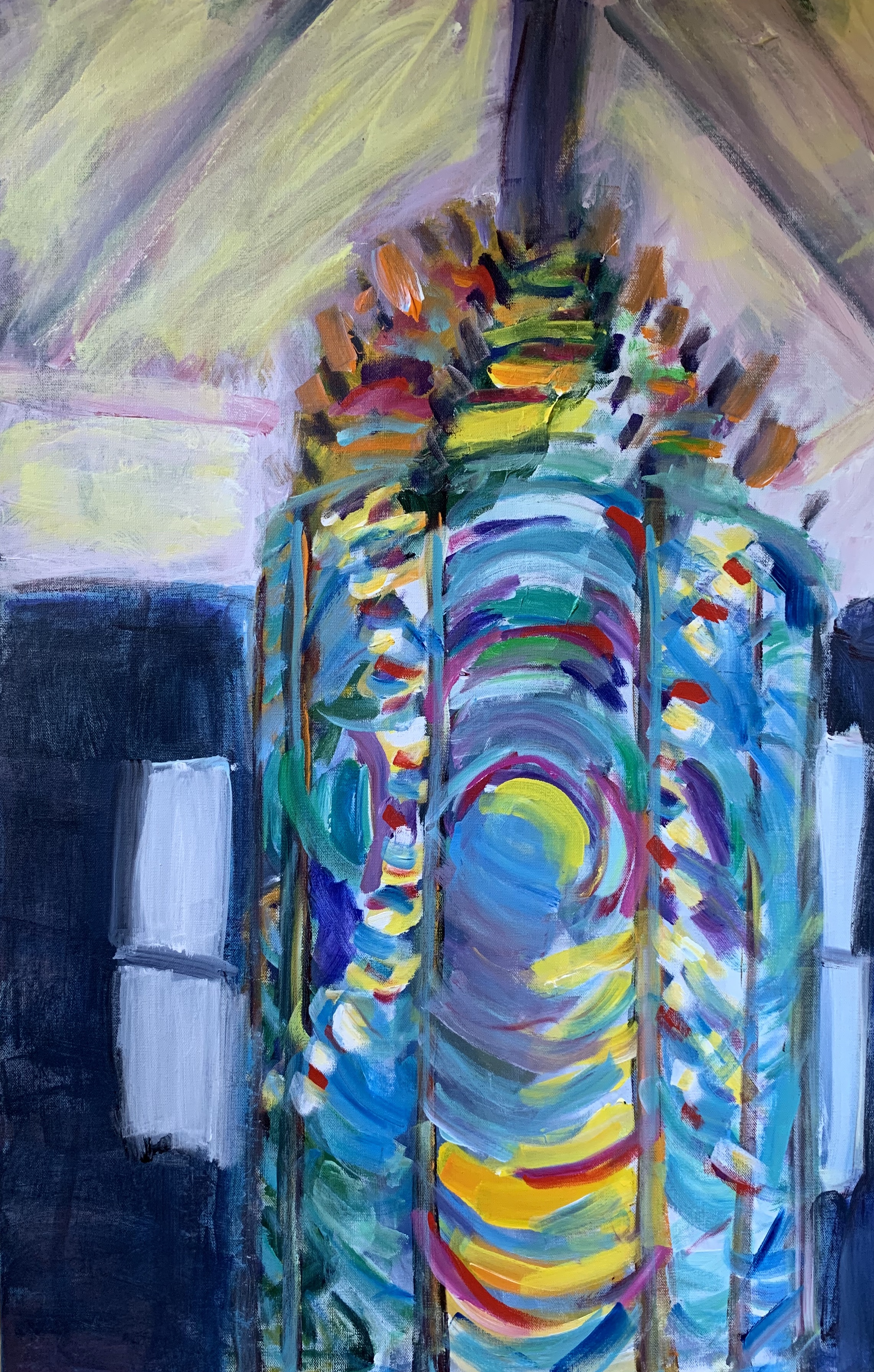 Lighthouse Prism, 36 x 24