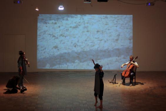 Rose Ryan, Milan Tarascas and Eleanor Wang. Portland Sculpture and Quarry Trust, 2018