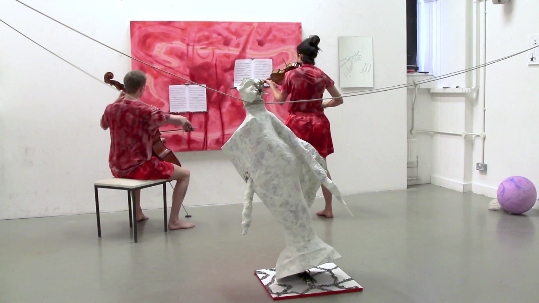 Eleanor Wang, Grotesque performance extract, 2016