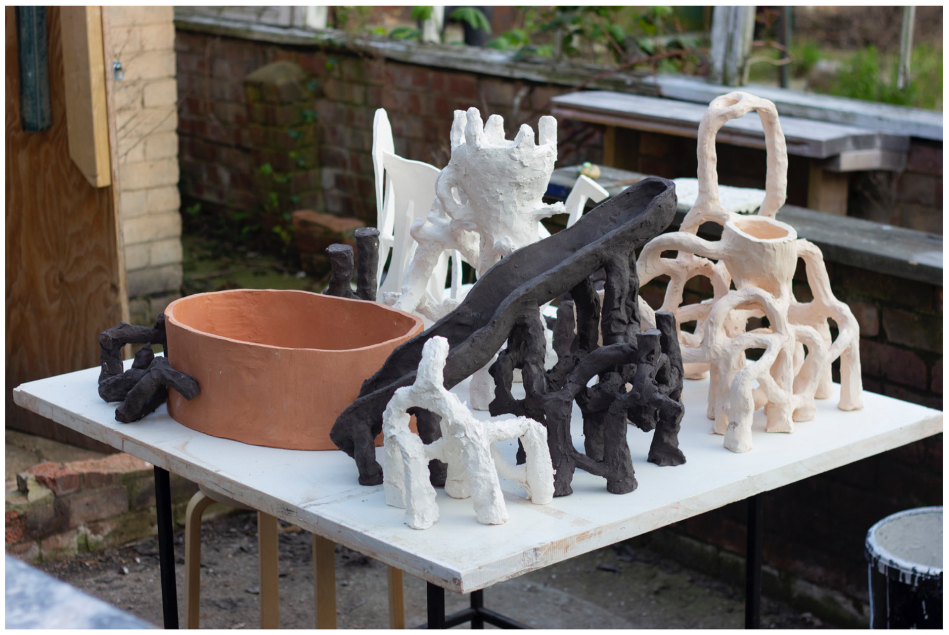 Mulch, 2019. Mixed ceramics