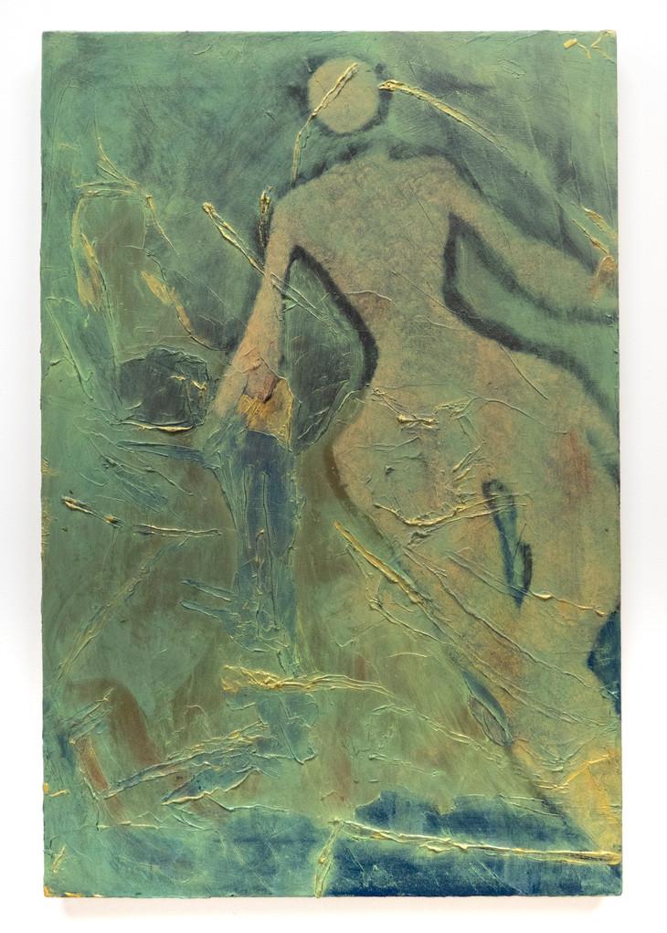 Eleanor Wang, Shadwell shadow, 2018. Oil on canvas