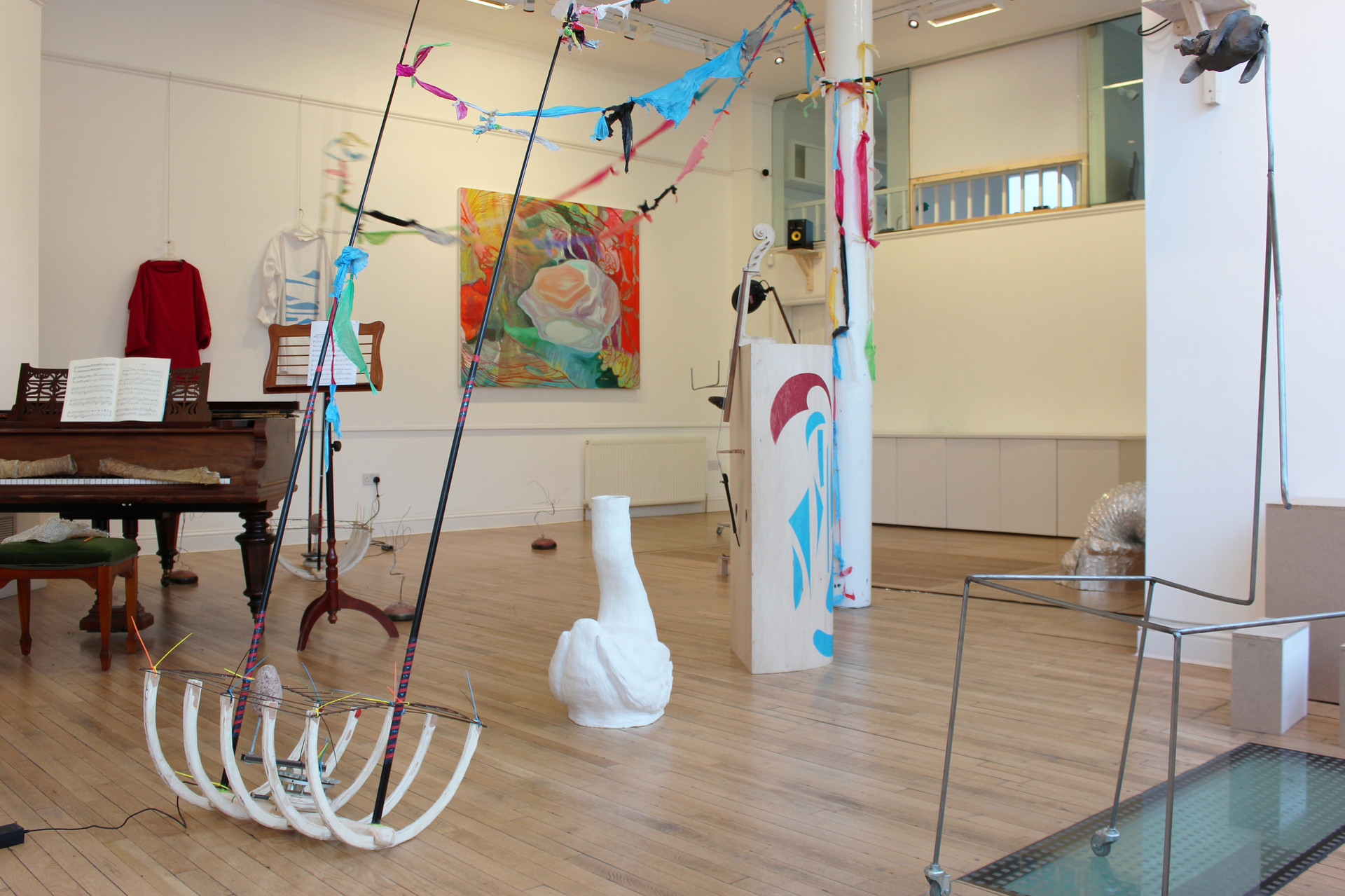 Carnival of the Animals, 2018. Installation view, San Mei Gallery, London