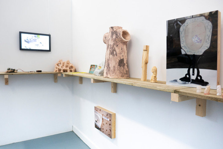 Wayfinding, 2019. Exhibition view,News of the World Gallery, London