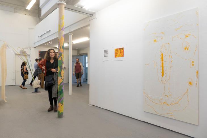 Eleanor Wang, Slade School of Fine Art Degree Show (Installation view), 2018