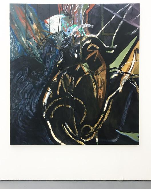 Eleanor Wang, Frida, 2018. Oil on canvas, 152 x 168cm