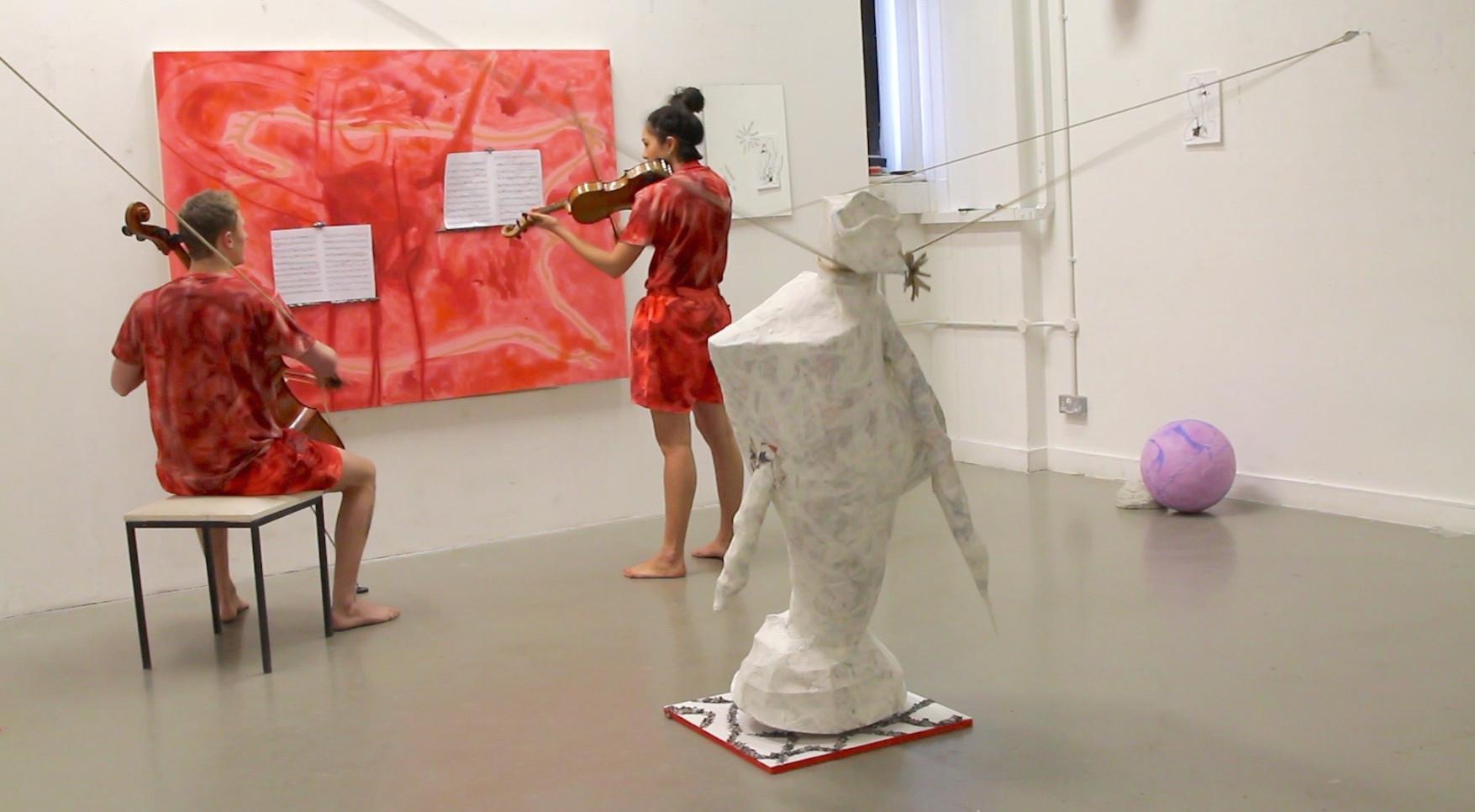 Eleanor Wang, Grotesque, 2016. Performance