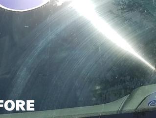Windshield Scratch Repair: How to fix a wiper scratch