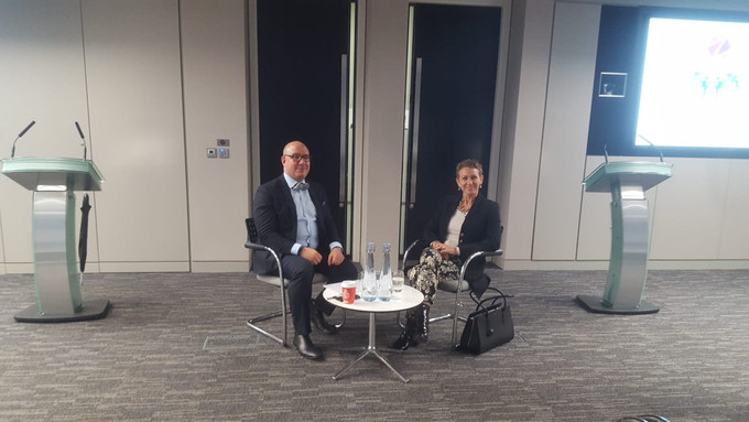 An evening with Inga Beale, CEO, Lloyd's of London