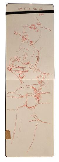 27-2-19 Bkr Str - HOH.Tube Traveller drawing. Simon Page
