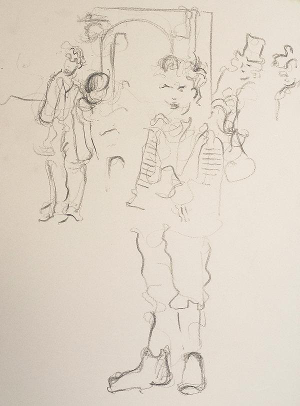 Festes, 2nd performance, 15-3-19. Harrow School, Twelfth Night, The Globe, Simon Page