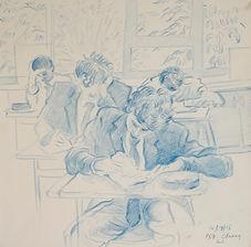 Literacy test, L6, PS7, 14-9-15. Crayon on paper. Simon Page.jpg