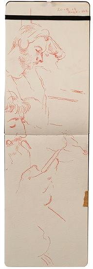 20-9-19 KIngs X - HOH.Tube Traveller drawing. Simon Page