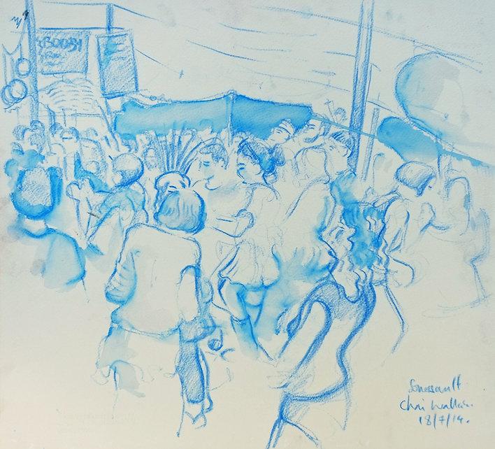 Chai Wallah Tent, Somersault Festival, 18-7-14