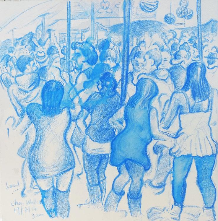 Chai Wallah Tent, Somersault Festival, 19-7-14
