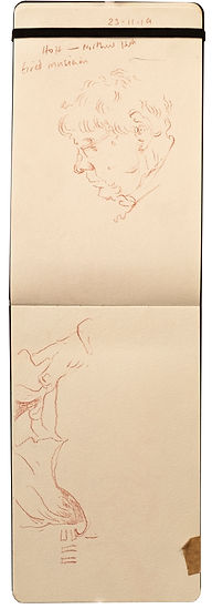 23-11-19 HOH - Northwood.Tube Traveller drawing. Simon Page