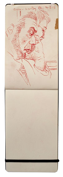 14-.8-18 Euston - Wembley Pk.Tube traveller drawing. Simon Page