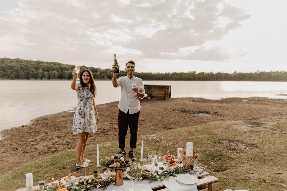 Verlobung Hochzeitsfotograf Provence Boho
