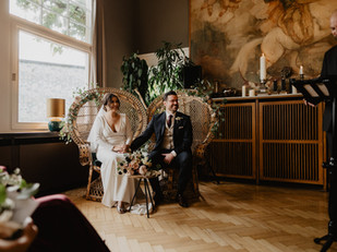 Autumn wedding in Frankfurt, Germany