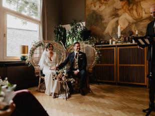 Autumn wedding in Frankfurt, Germany