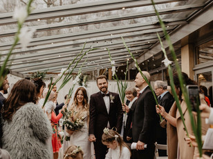 Boho Wedding in Hanover, Germany