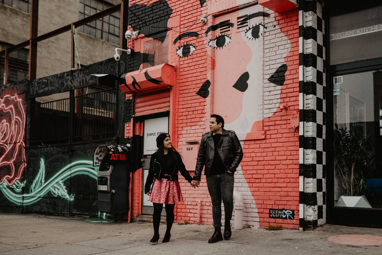 Wedding photographer bushwick new york city