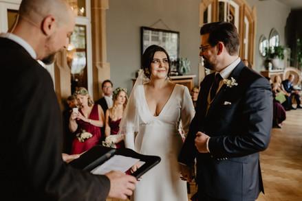 Hochzeitsfotograf Tafel und Wein Pfalz