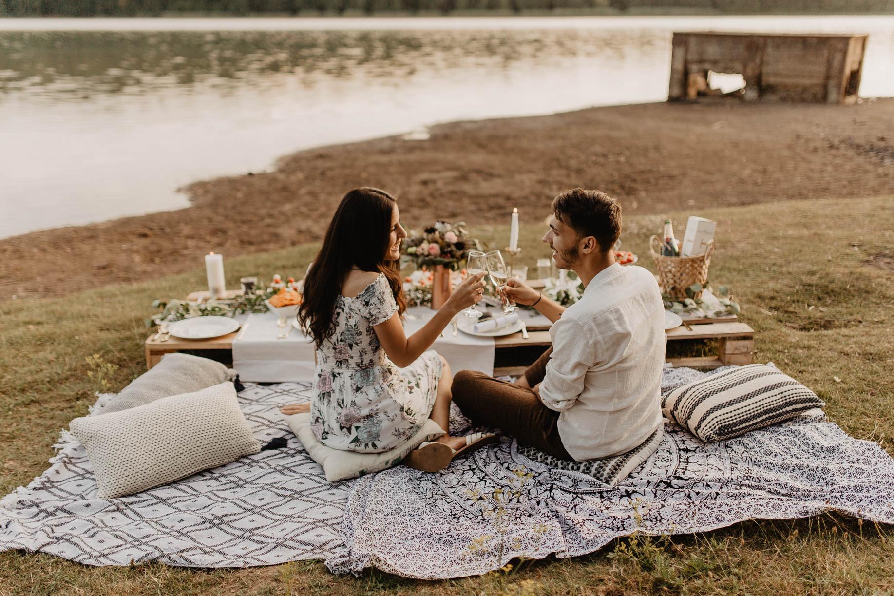 Fotograf Heiratsantrag Provence