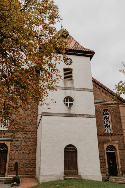 Hochzeitsfotograf Kirche Brelingen Hannover Boho