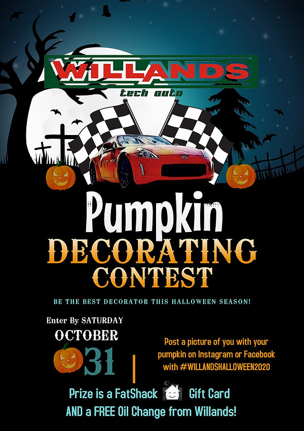 Pumpkin Contest, WIllands Tech Auto, 204