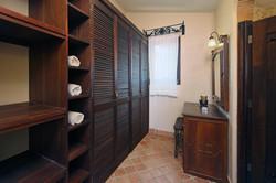 Bathroom and abundant closet space