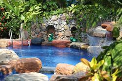 Private oasis spa