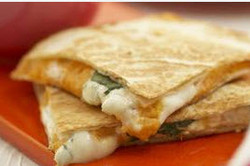 Quesadillas made from scratch