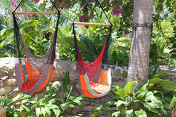 Relax in our hammocks!