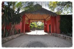 Entrance to La Villa Bella