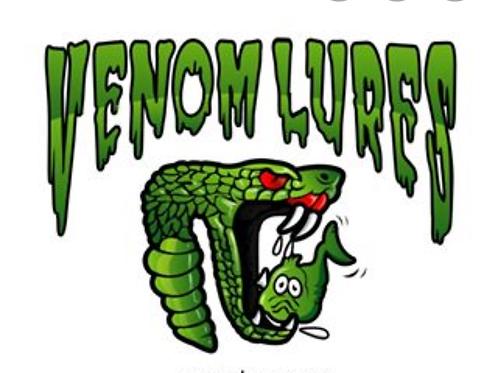 Venom Lures (Coming soon! lures, Merch Etc.)
