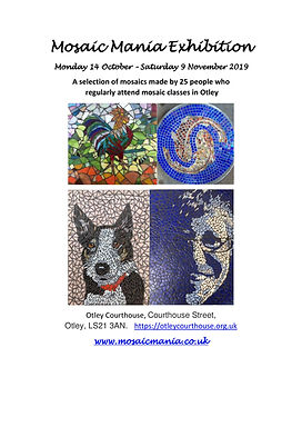Courthouse Mosaic Exhibition flyer photo