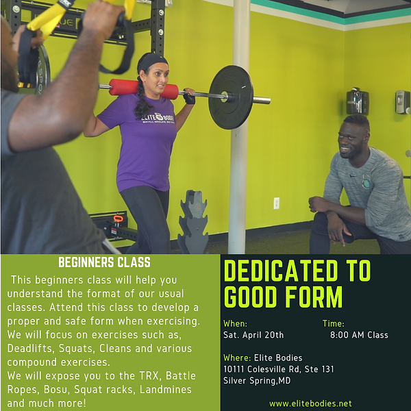 Elite Bodies - Gym In Silver Spring, Maryland - Beginner Classes