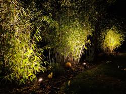 Eclairage de 3 bambous avec 3 spots 3W 240 lm ZAS