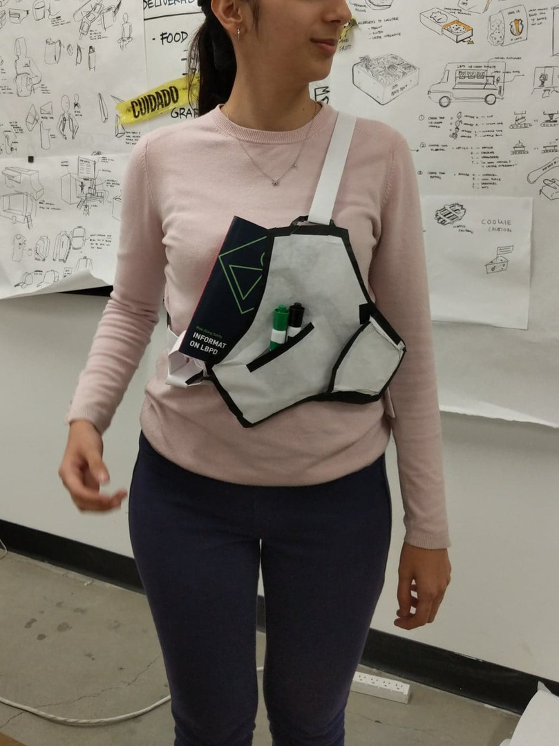 Early concept prototype - Shape exploration. Protect your heart