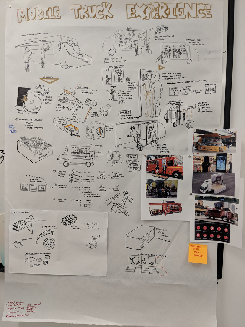 public service food truck experience concept