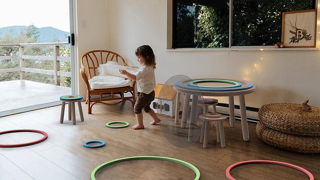 kinü is a modular furniture kid's set