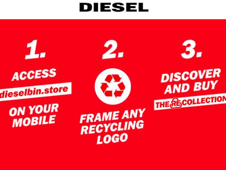 Diesel partners with Coca-Cola on recycled materials collection