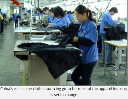 China's changing role as the go-to for clothes sourcing