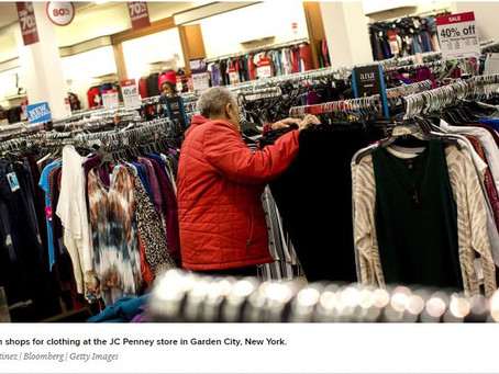 JC Penney to launch outdoor apparel shops within 100 stores as it attempts to boost sales