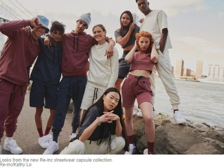 Lifestyle Brand Re-inc Launches Streetwear Capsule Collection