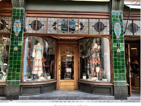 Anthropologie teams up with Traid to celebrate vintage fashion in London