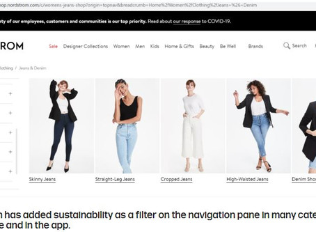Nordstrom Sets Sustainability Goals for 2025