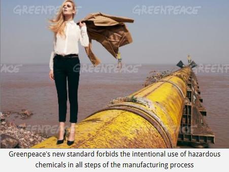 Greenpeace trials new Global Textile Procurement standard